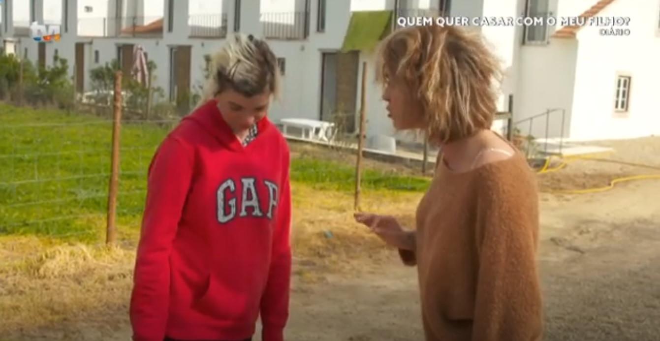 Discussão em programa da TVI: 'Sogra' exalta-se com pretendente do filho