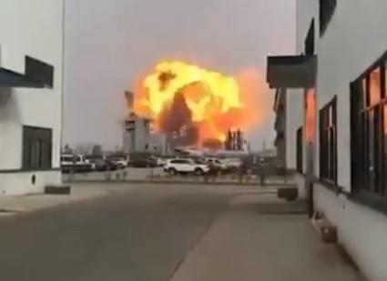 Explosão em fábrica de químicos na China. Há registo de feridos