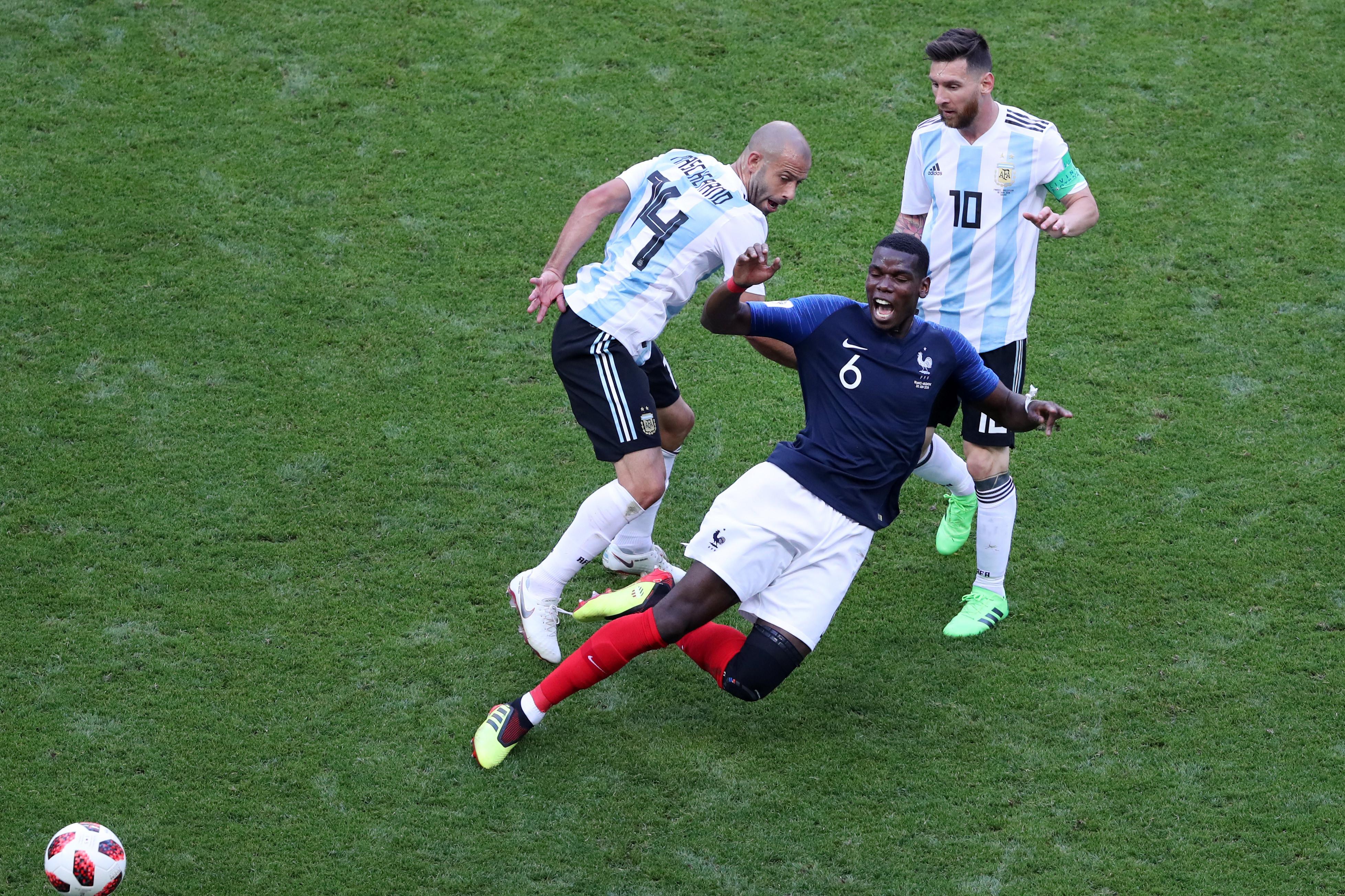 """Pogba: """"Messi está muito acima de todos"""""""