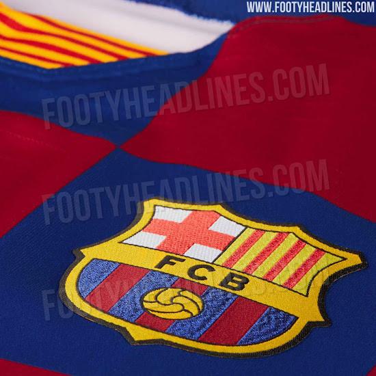 Novo equipamento do Barcelona surpreende e é estilo... Boavista