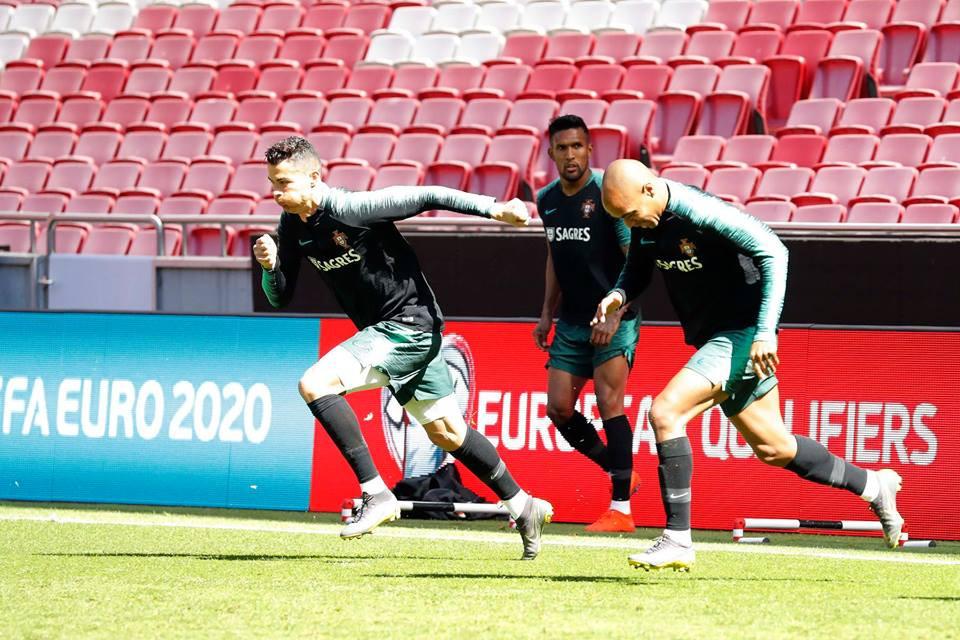 Portugal-Ucrânia: A 'Luz' de Ronaldo que volta nove meses depois