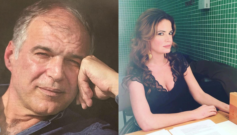 Rodrigo Guedes de Carvalho surpreendido por Bárbara Guimarães