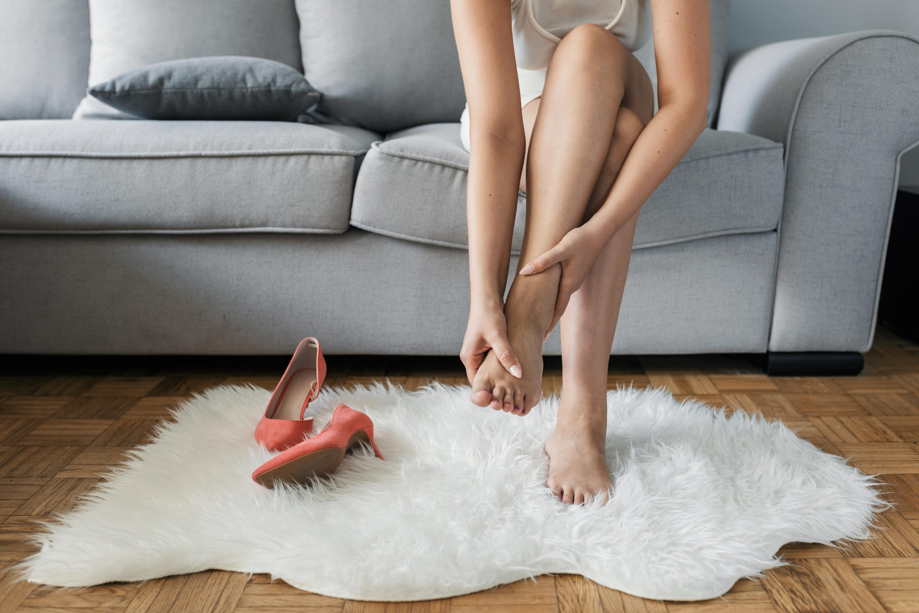 Será normal sentir cansaço nos pés?