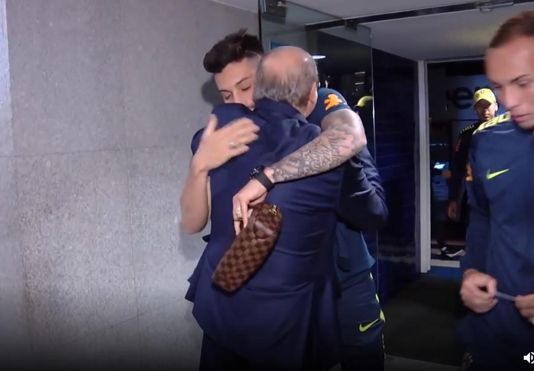 Pinto da Costa reencontrou-se com estrelas da seleção brasileira