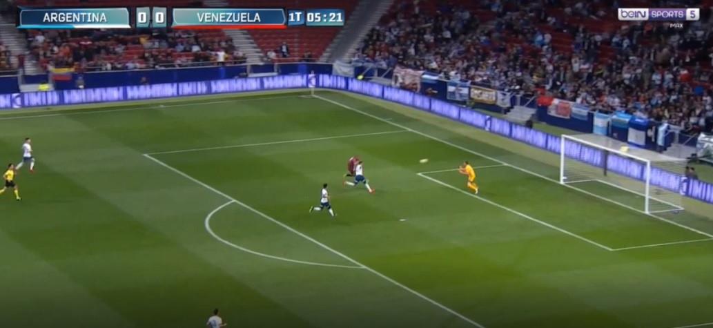 No regresso de Messi à seleção, foi o venezuelano Rondón quem marcou