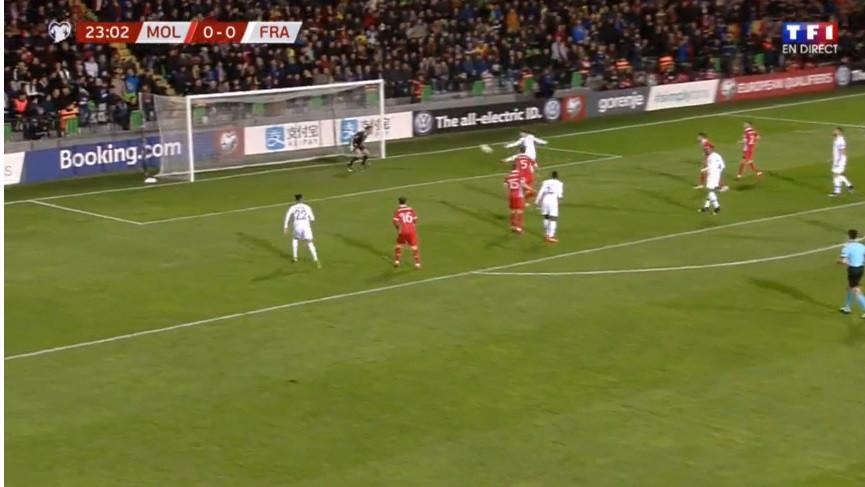 Griezmann inaugurou marcador após assistência magistral de Pogba