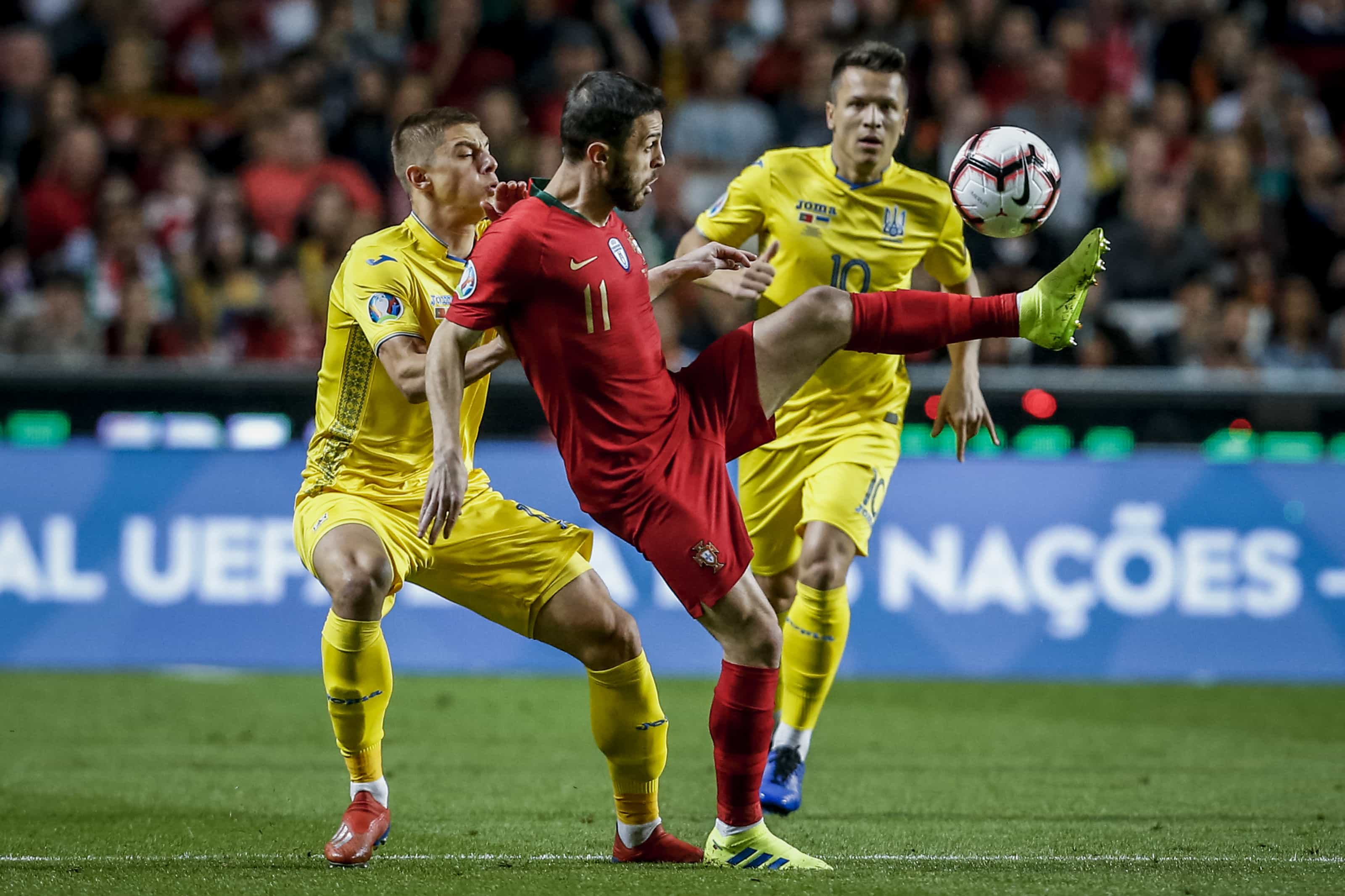 """Bernardo Silva: """"Foi um jogo um bocado monótono..."""""""