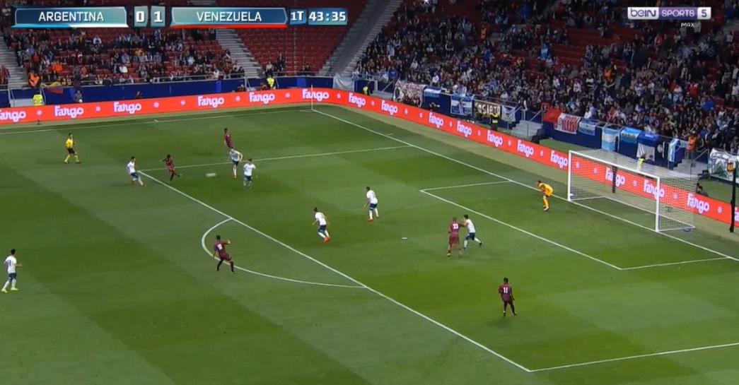 Murillo, jogador do Tondela, marcou golaço contra a Argentina