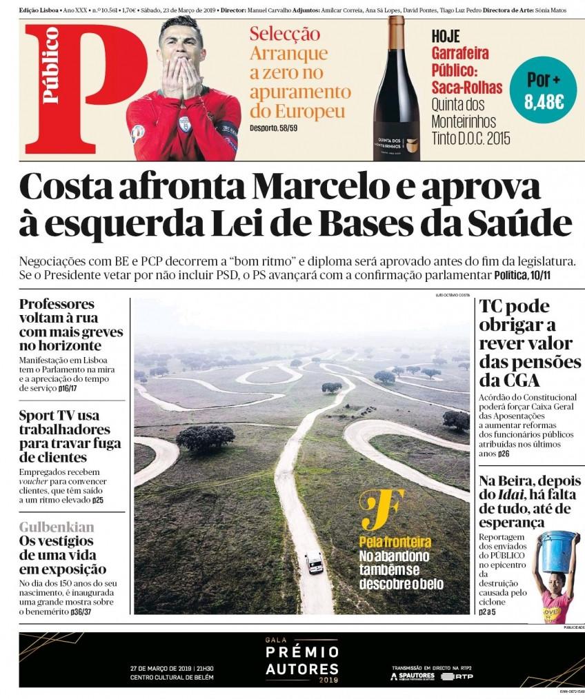 Hoje é notícia: Costa afronta Marcelo; Hacker saca um milhão
