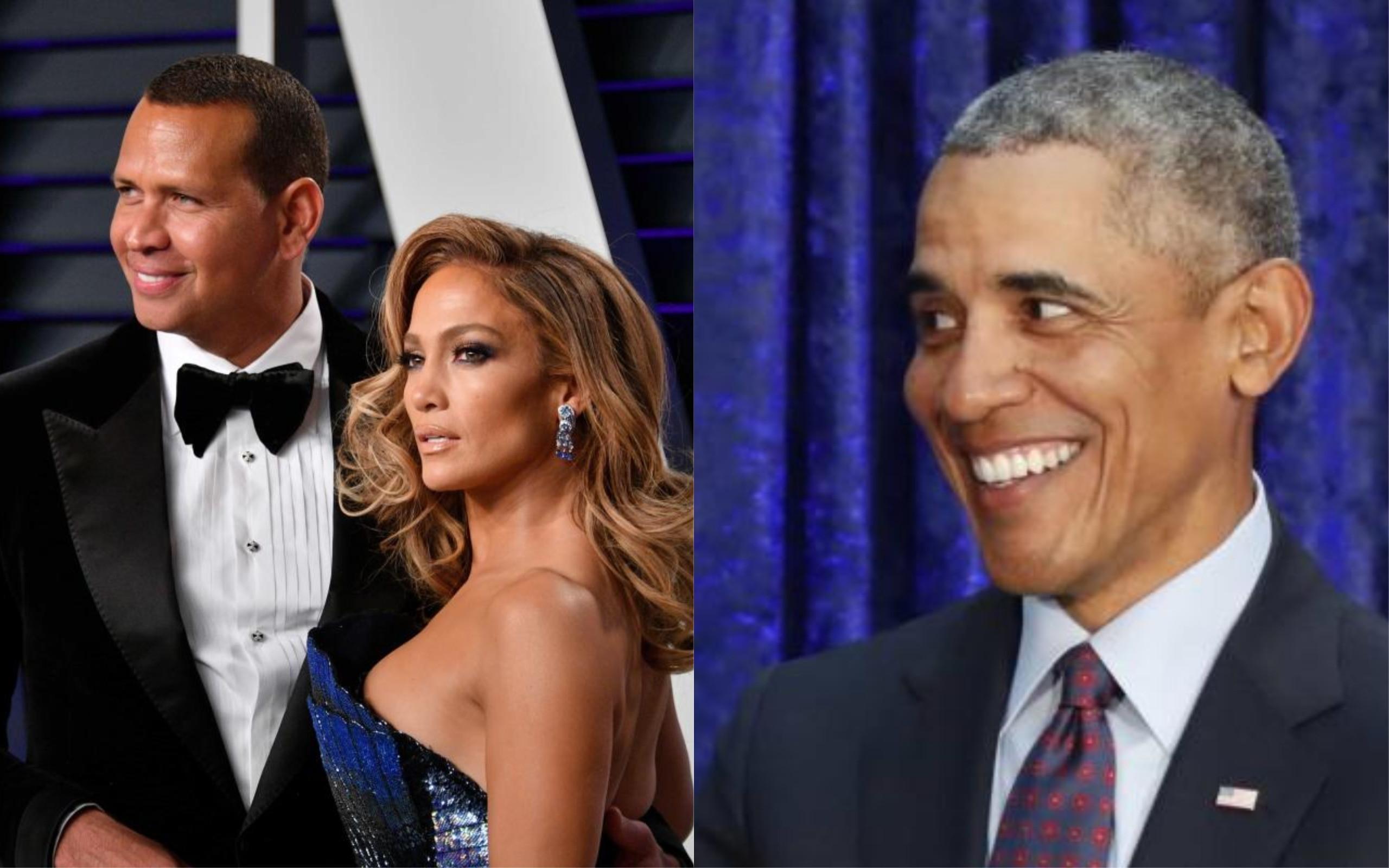 Barack Obama envia carta de felicitações a Jennifer Lopez e ao noivo