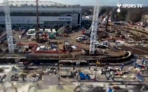 Novo estádio do Tottenham: Do zero ao 'dia D' em 2 minutos