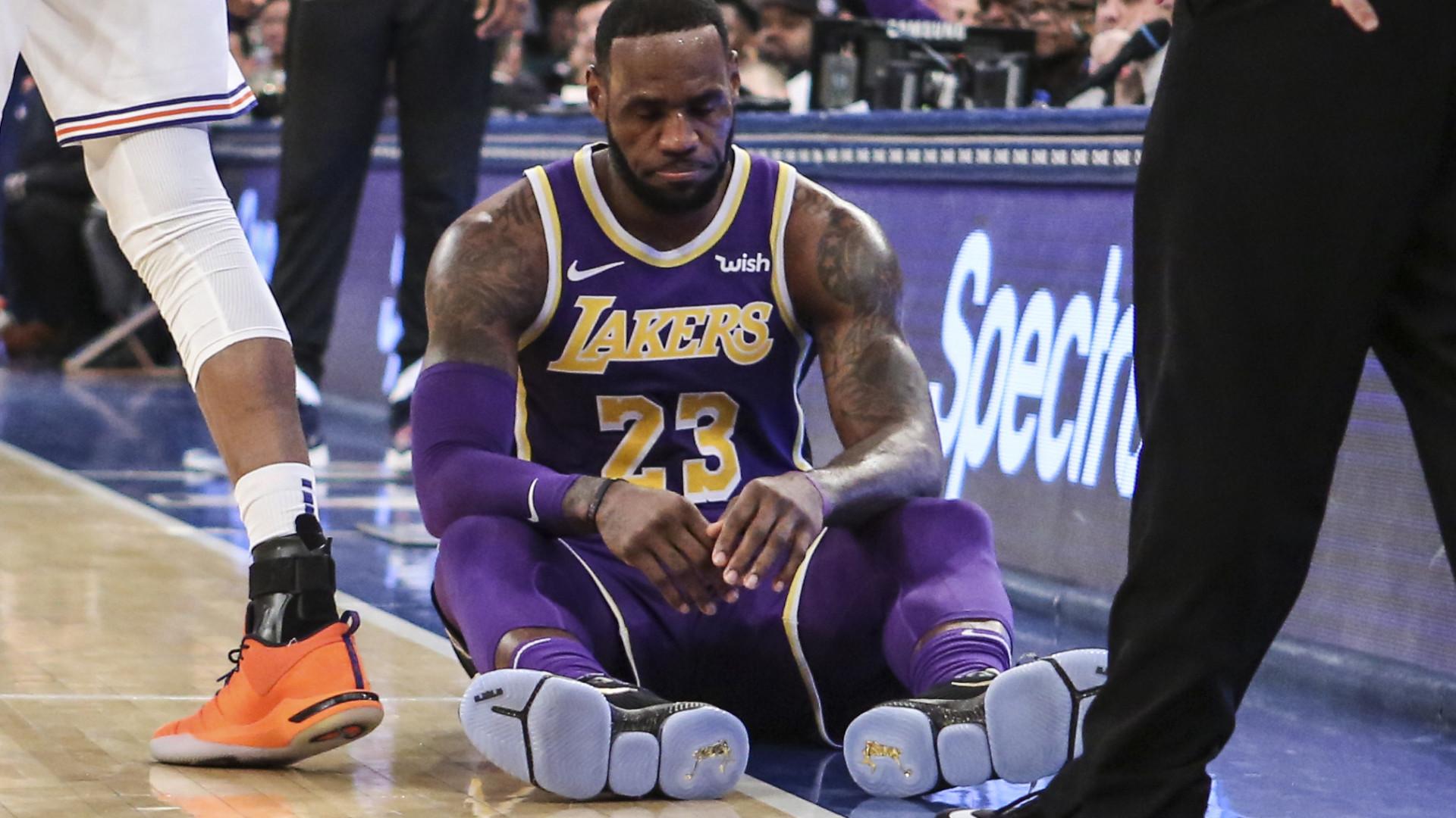 Sim, é mesmo verdade. Lakers de LeBron James fora dos playoffs