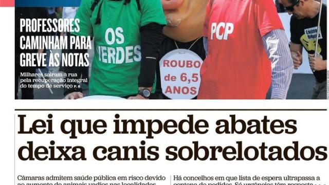 Hoje é notícia: Amante de Rosa 'vizinho' de hacker, Luso morto 21 minutos