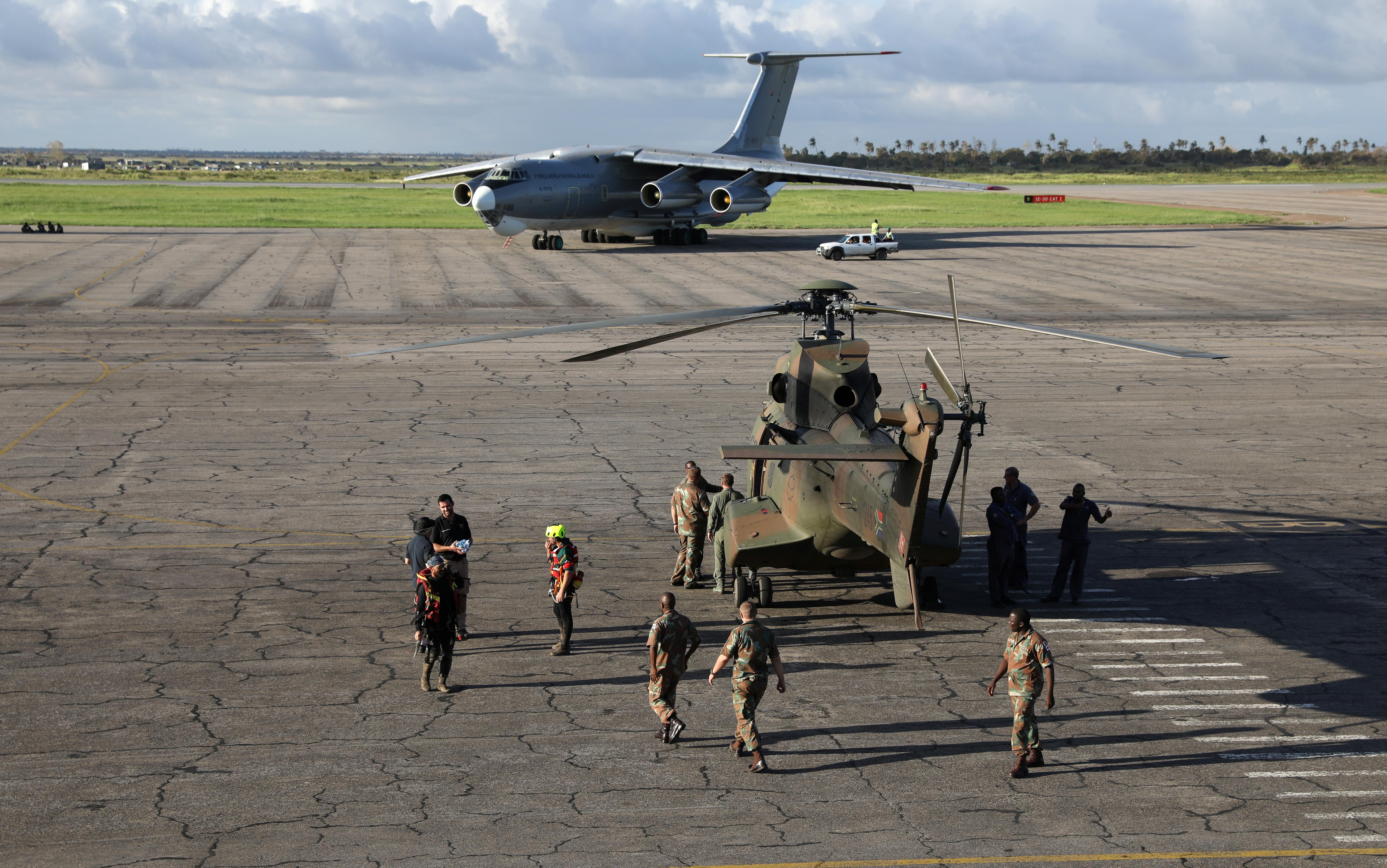 Seis portugueses repatriados para Portugal após tragédia em Moçambique