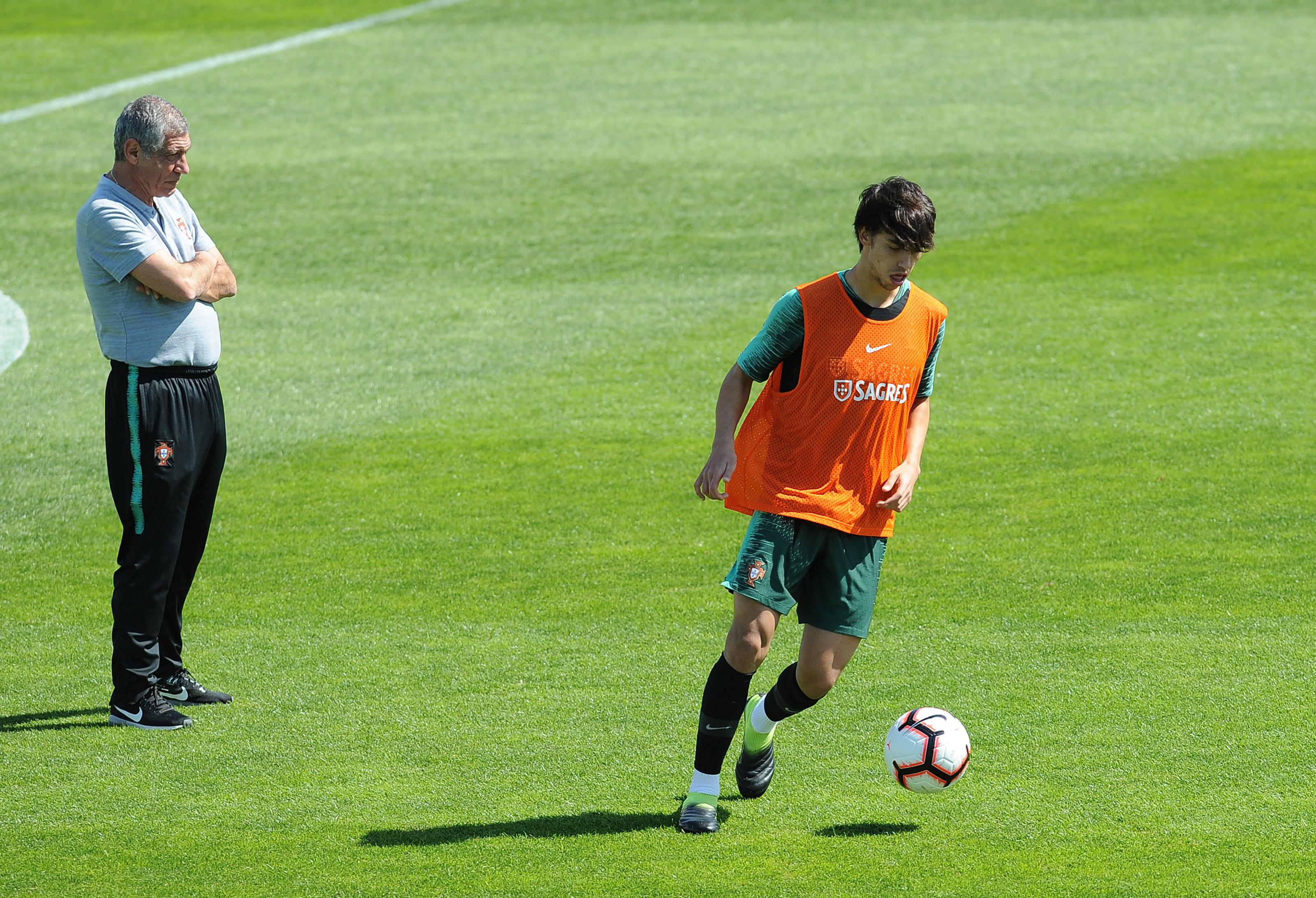 """Félix pode falhar jogo com a Sérvia. """"Vamos ver se está apto ou não"""""""