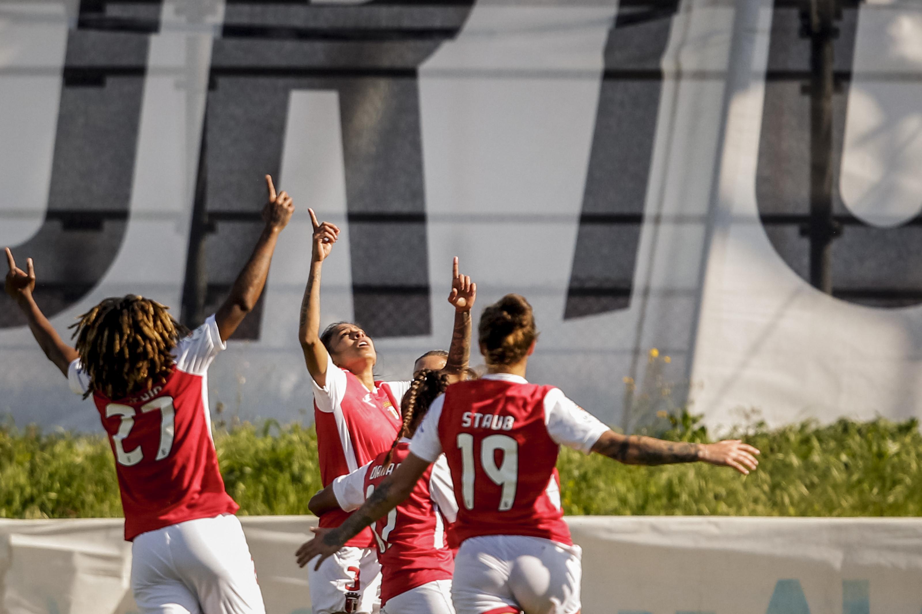 Braga vence Benfica na Taça de Portugal feminina e coloca-se em vantagem