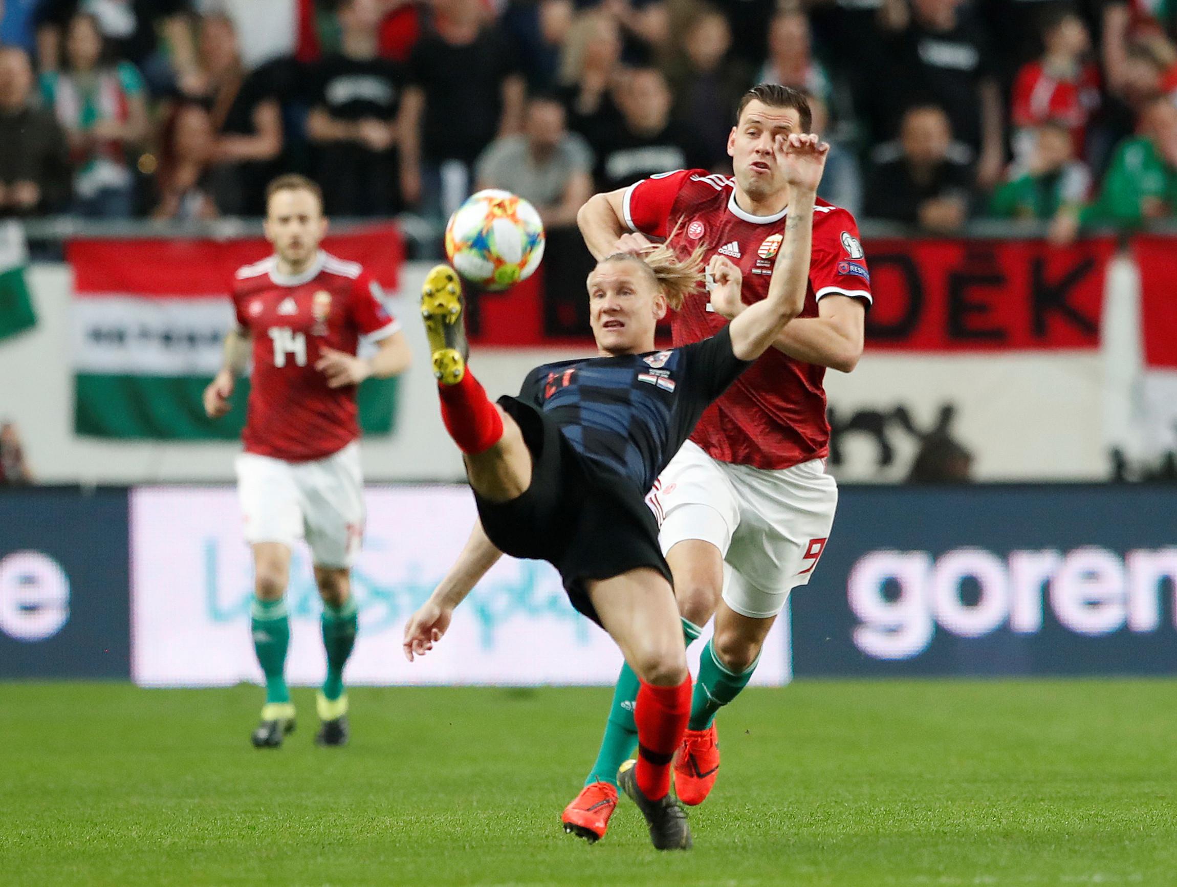 Vice-campeã mundial Croácia tropeça na Hungria. Chuva de golos em Israel