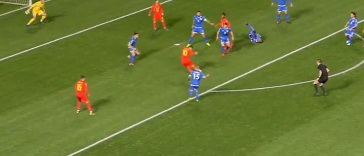 Foi assim que Hazard inaugurou marcador no Chipre-Bélgica