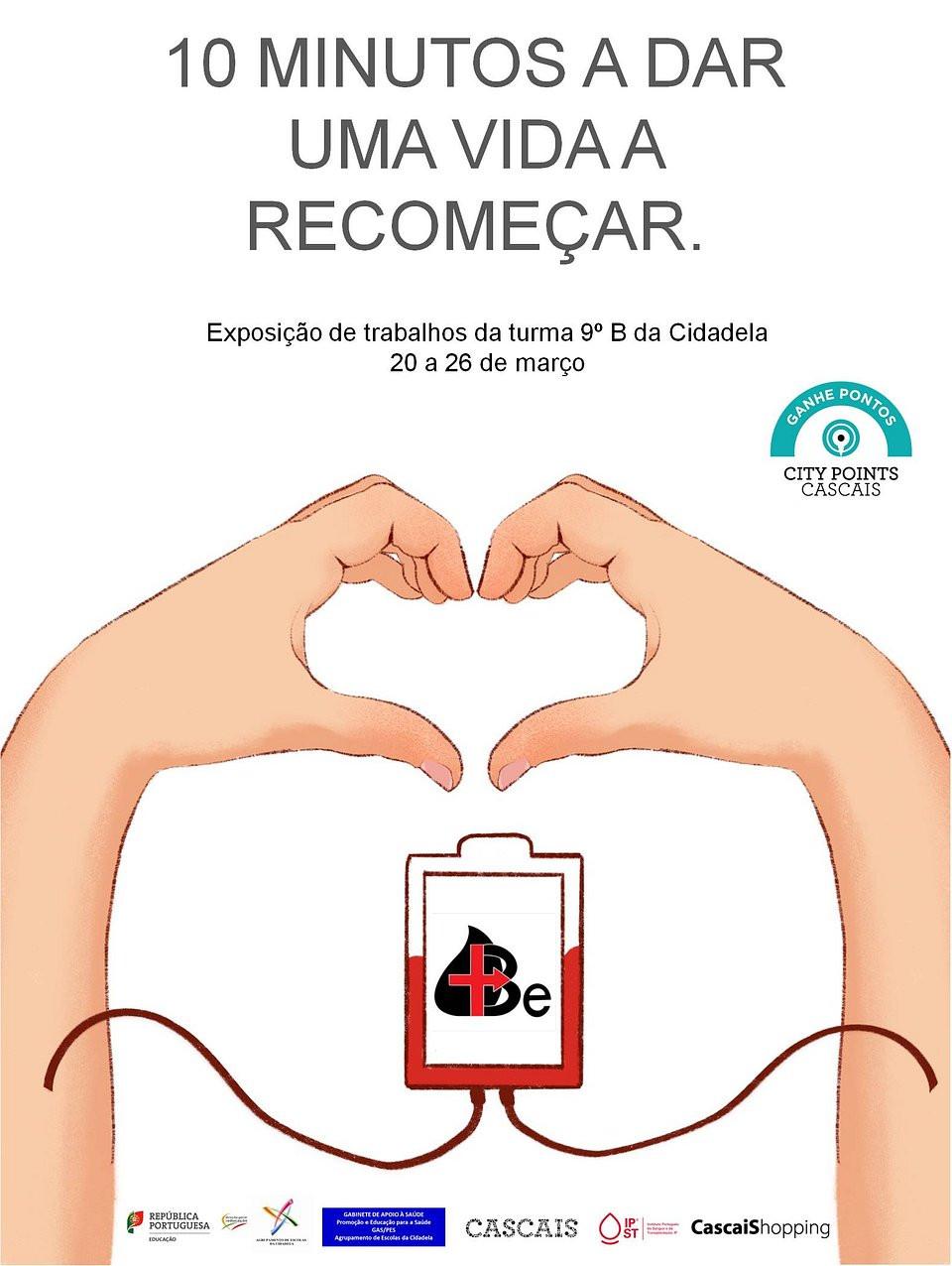 CascaiShopping recebe Campanha de Sensibilização para a Doação de Sangue