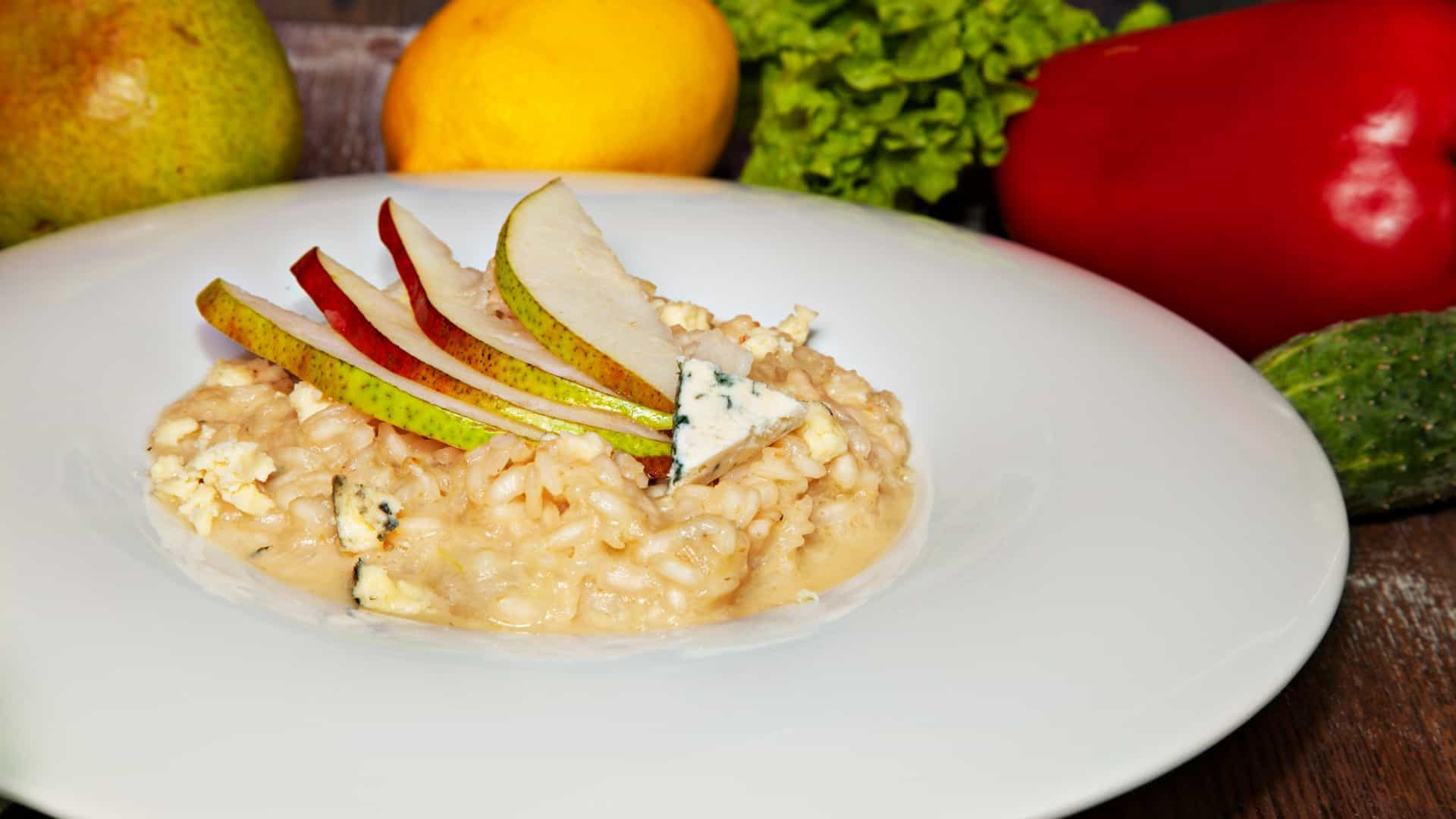 Aprenda a fazer um delicioso risotto de gorgonzola. Bom apetite!