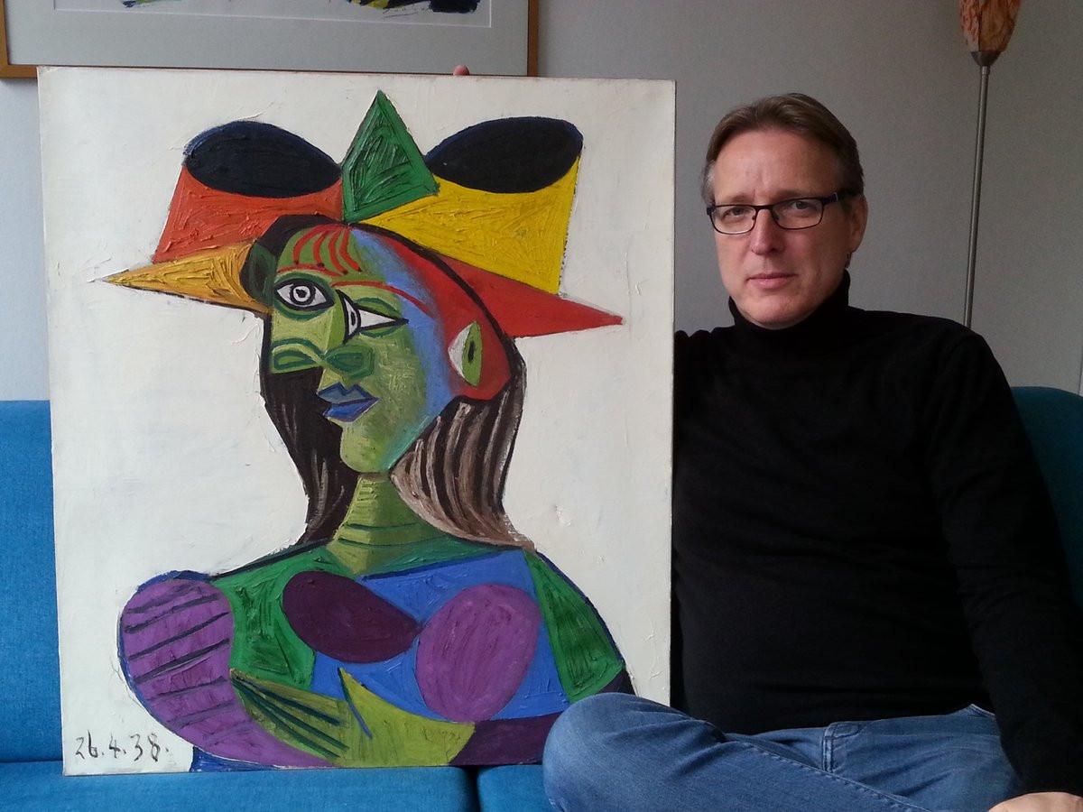 'Indiana Jones' da arte recupera quadro roubado de Picasso 20 anos depois