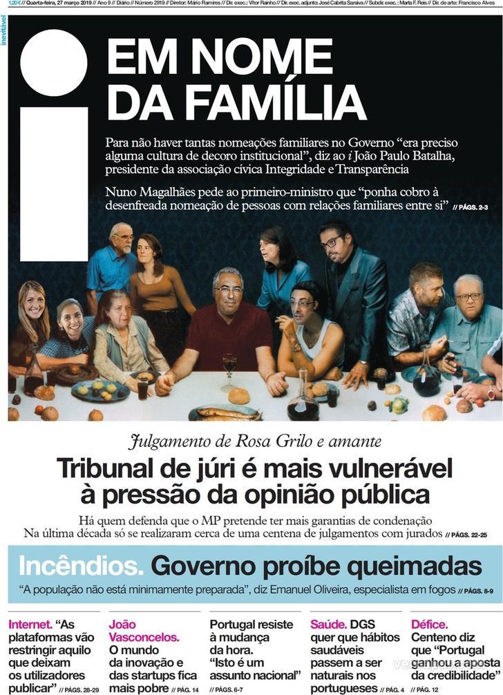 Hoje é notícia: Quem matou Luís Grilo; Mais creches, mais mães militares