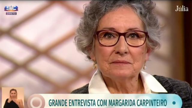"""Margarida Carpinteiro sobre não ter sido mãe: """"Dores que são para a vida"""""""