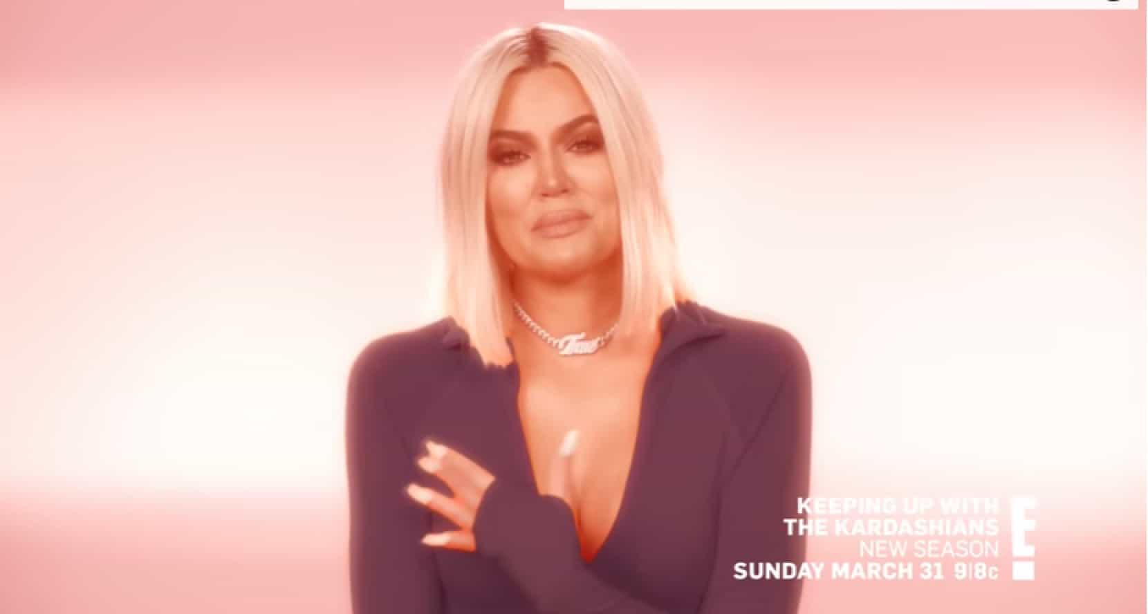 Khloé Kardashian em lágrimas na nova temporada do reality show