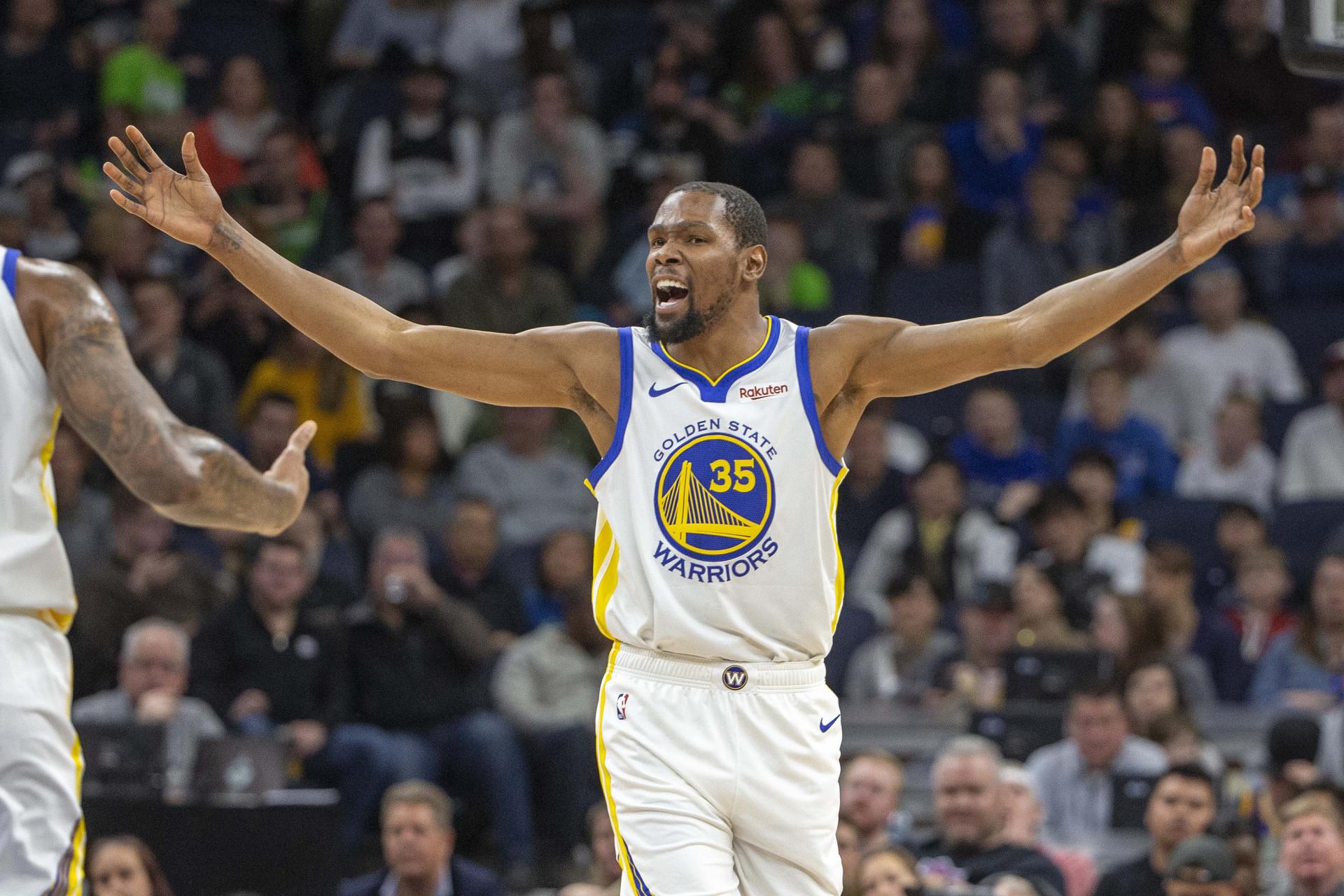 31fb7faf2 Roubo da década na NBA corre mundo  Curry e Durant nem queriam acreditar