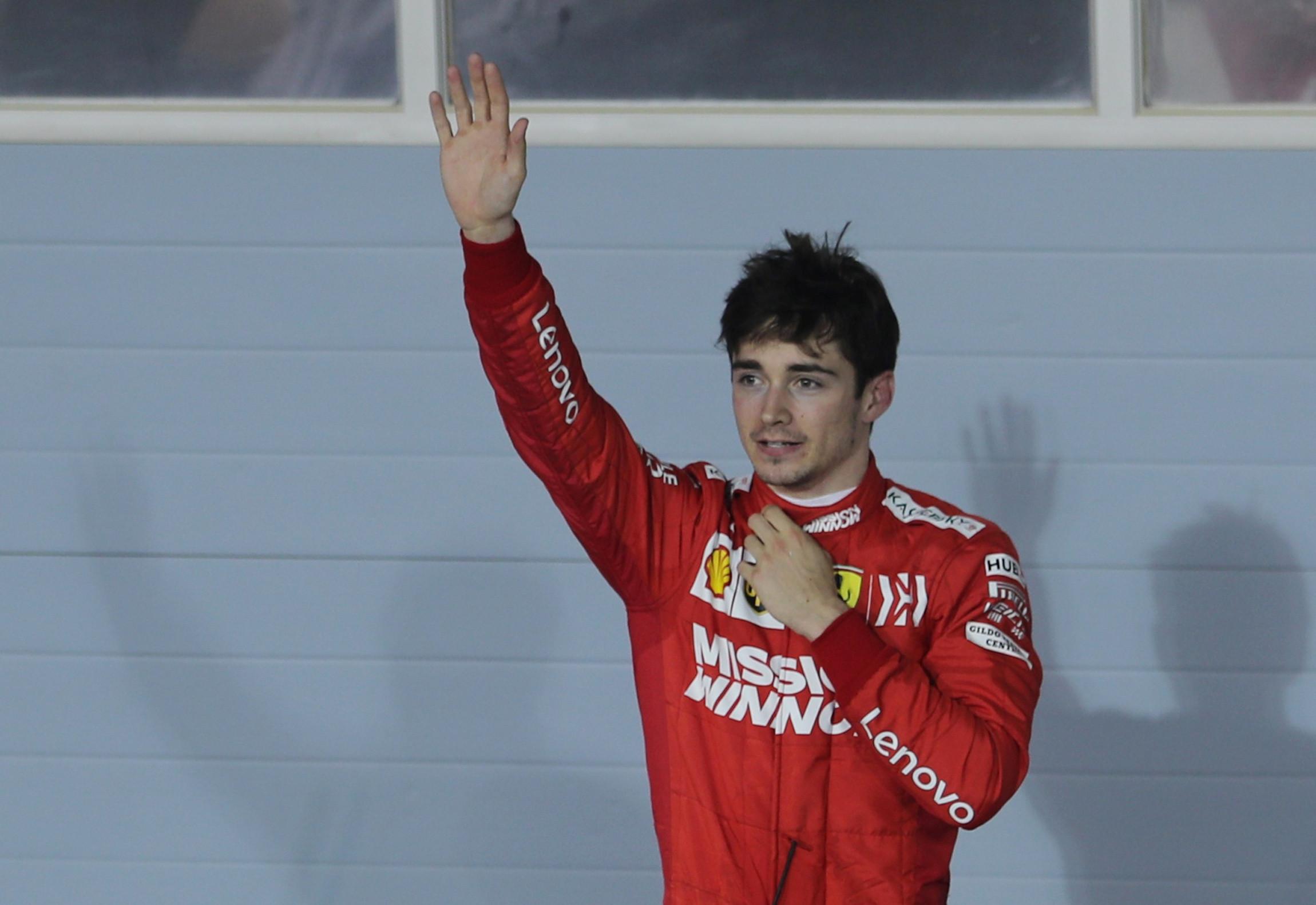 """Já se conhece o problema do Ferrari de Leclerc: """"Pensei que ia explodir"""""""
