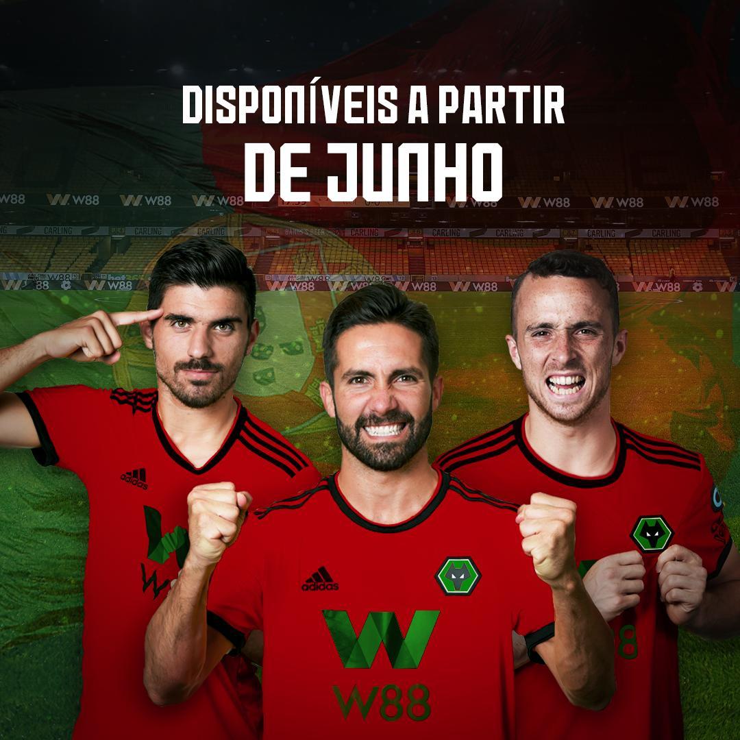Partida de 1 de abril? Wolves anuncia equipamento português