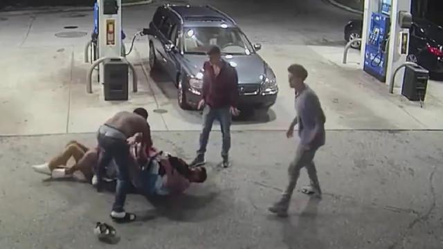 Ladrão armado foi surpreendido pela reação das 'vítimas' e teve de fugir