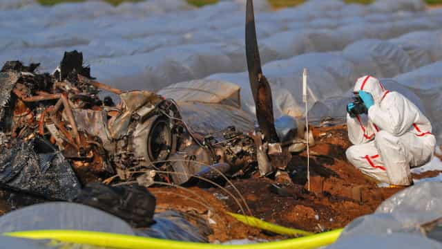 Encontrados corpos das vítimas de acidente de avião russo na Alemanha