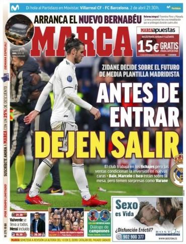 Lá fora: As 'escolhas' de Zidane e o regresso de Ronaldo