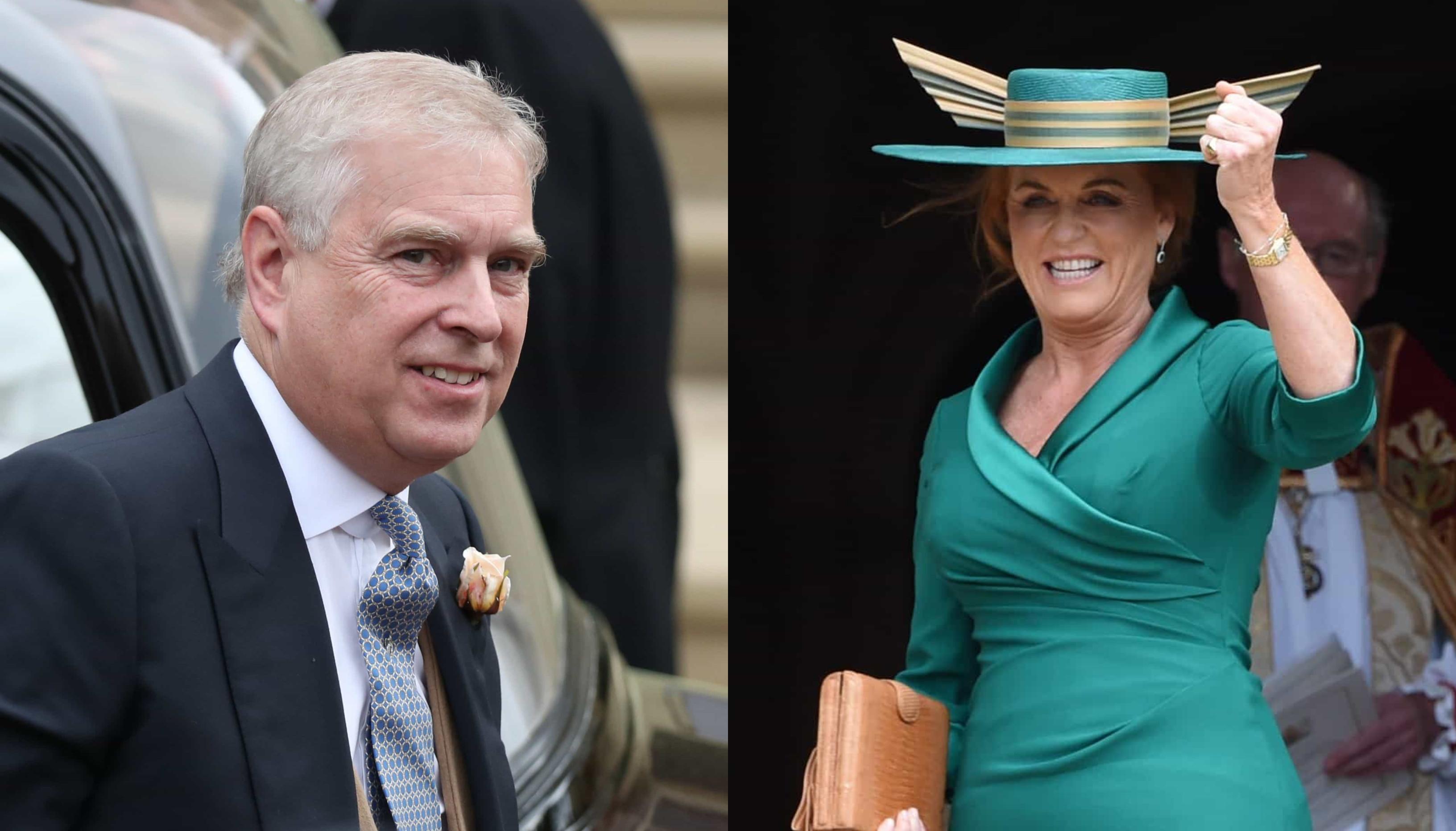 Príncipe Andrew e Sarah Ferguson não estão juntos de novo