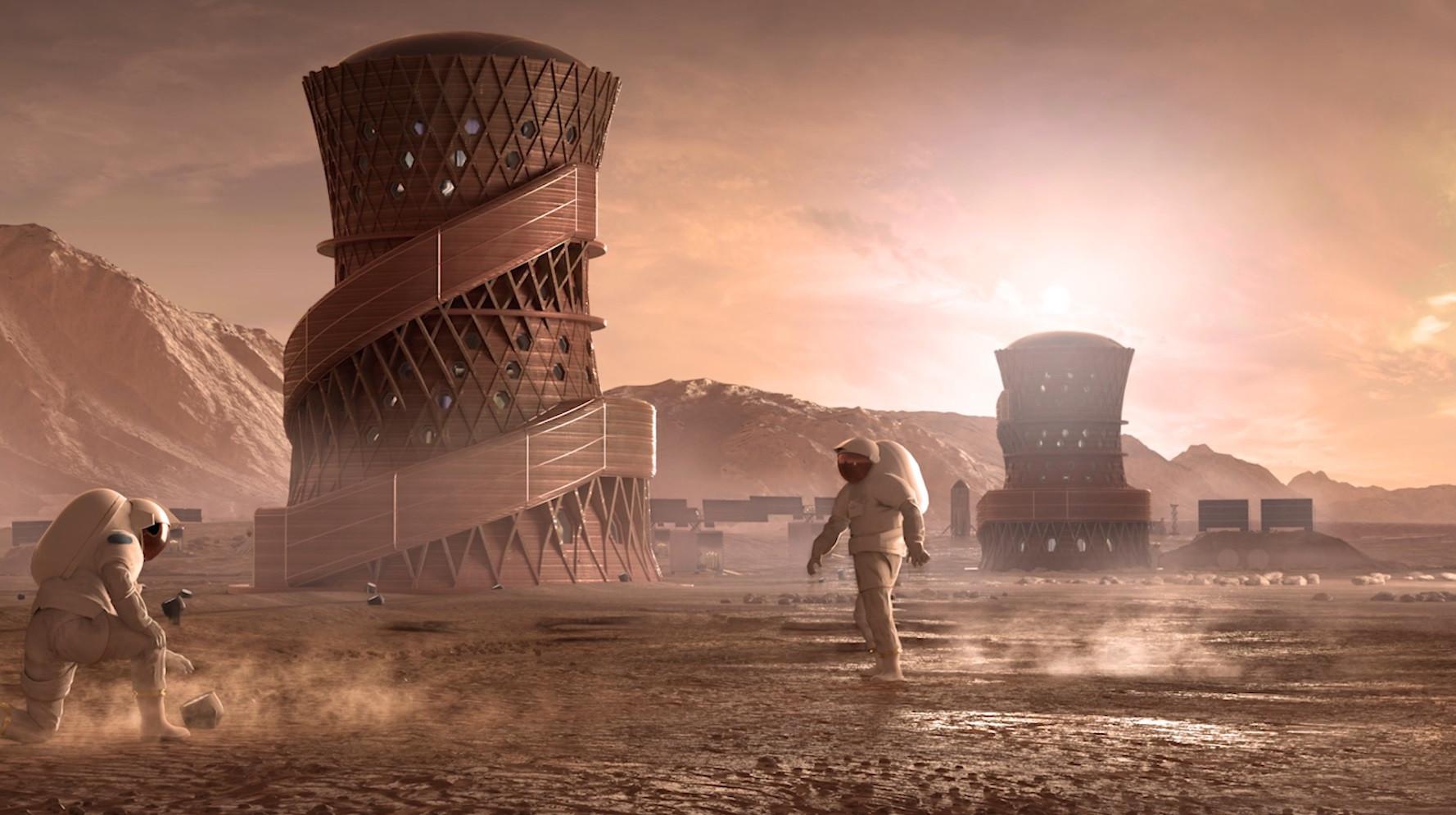 As casas de Marte. NASA revela as três finalistas de competição