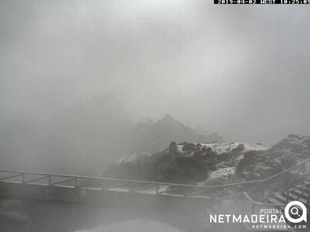 Depois do granizo em Lisboa, a neve na Madeira. Assim vai a primavera