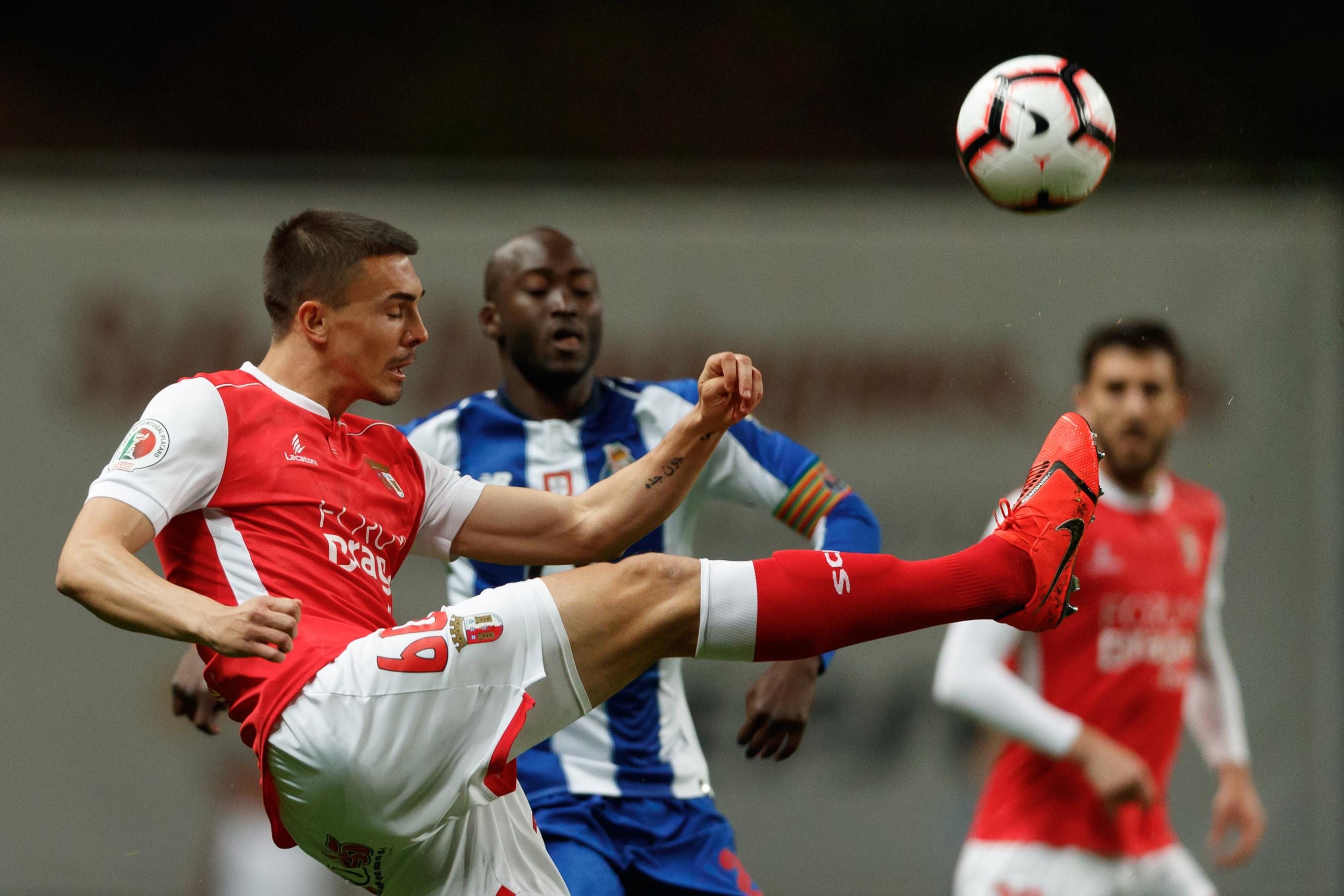 [1-0] Sp. Braga-FC Porto: Sérgio Conceição lança Otávio