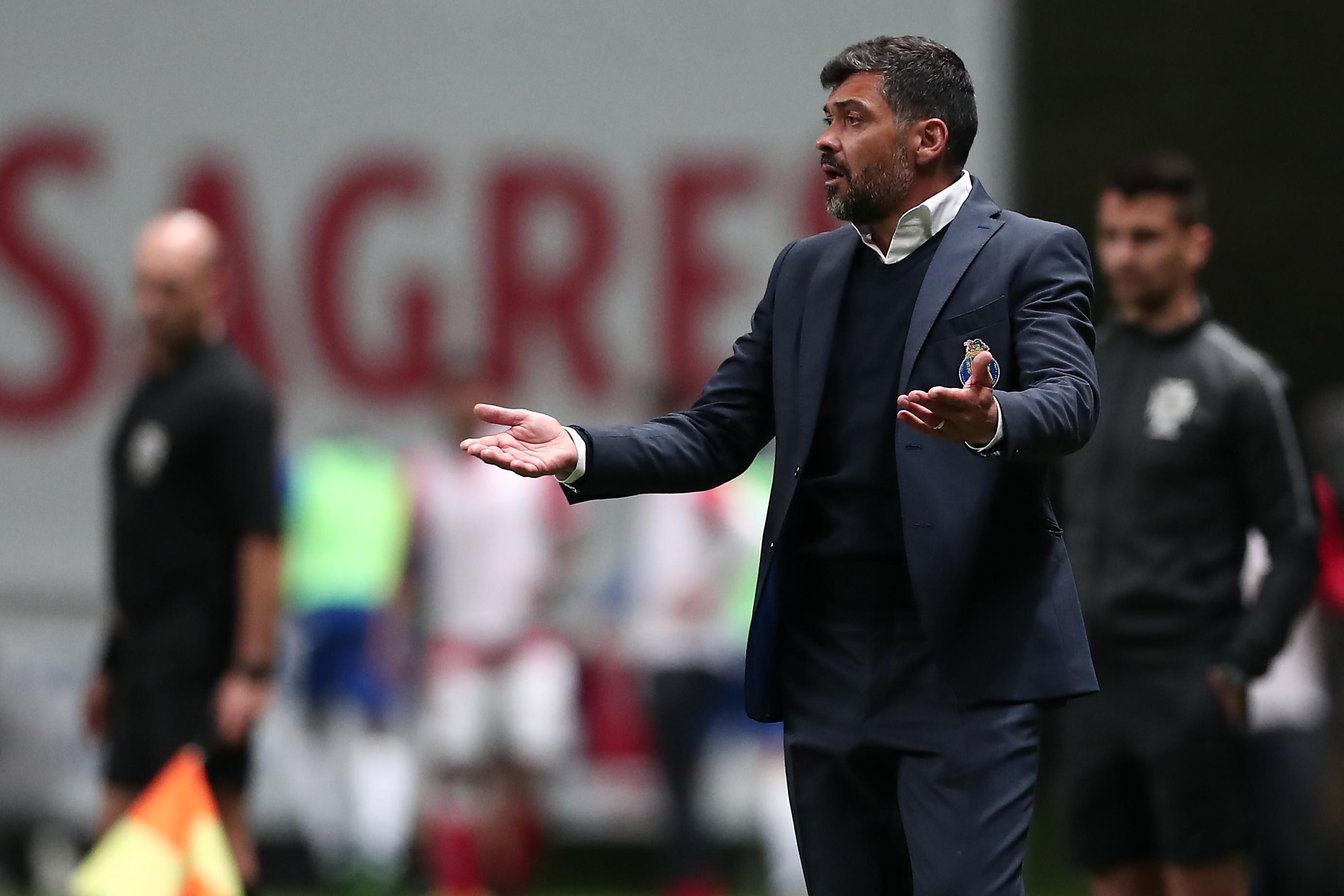 """""""Hoje passeámos as camisolas do FC Porto por Braga e não gostei"""""""