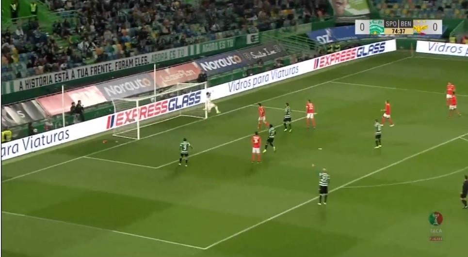 Golaço de Bruno Fernandes coloca o Sporting na frente