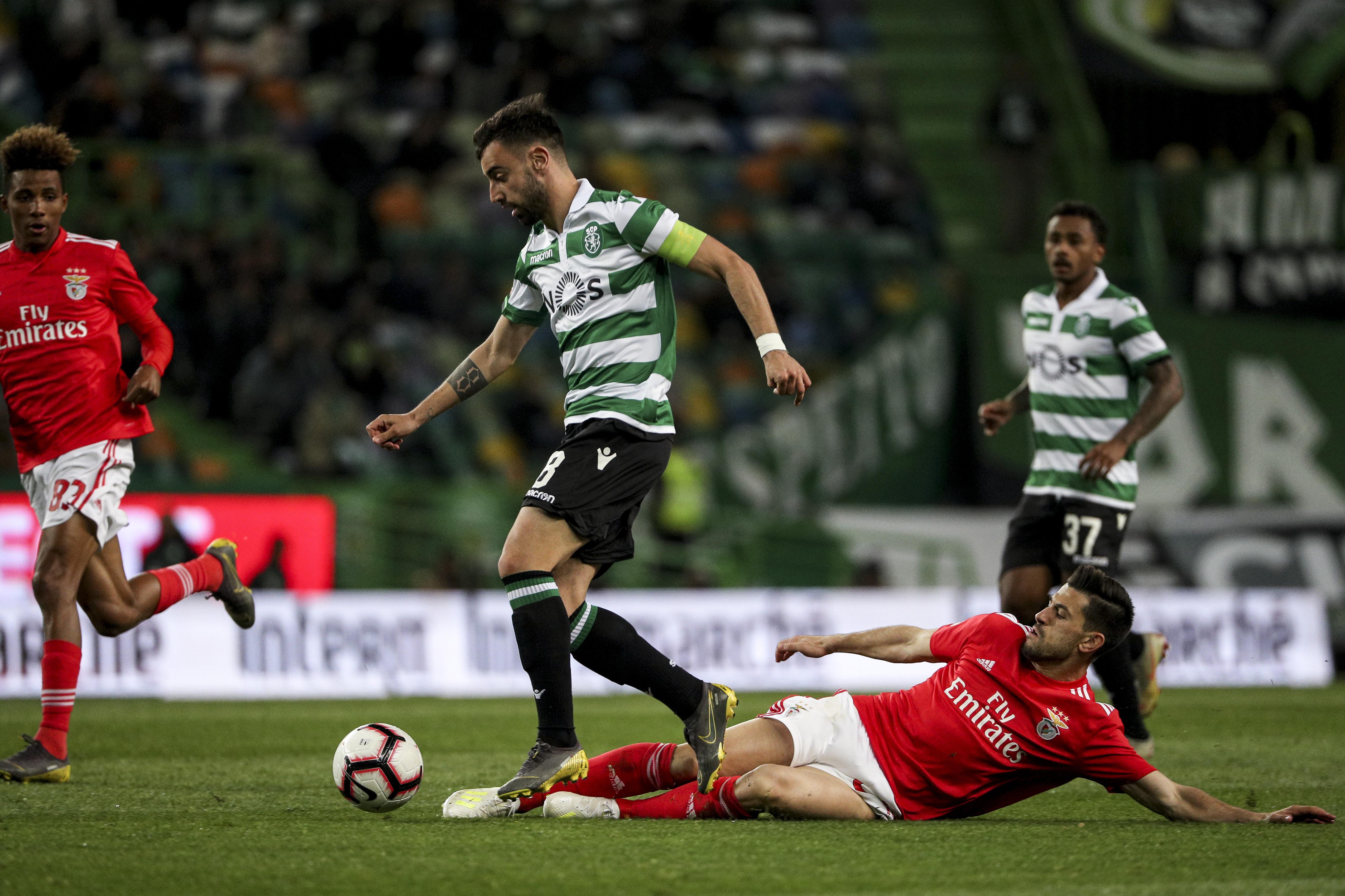 Gonçalo Paciência reagiu ao golo de Bruno Fernandes e lançou um desafio