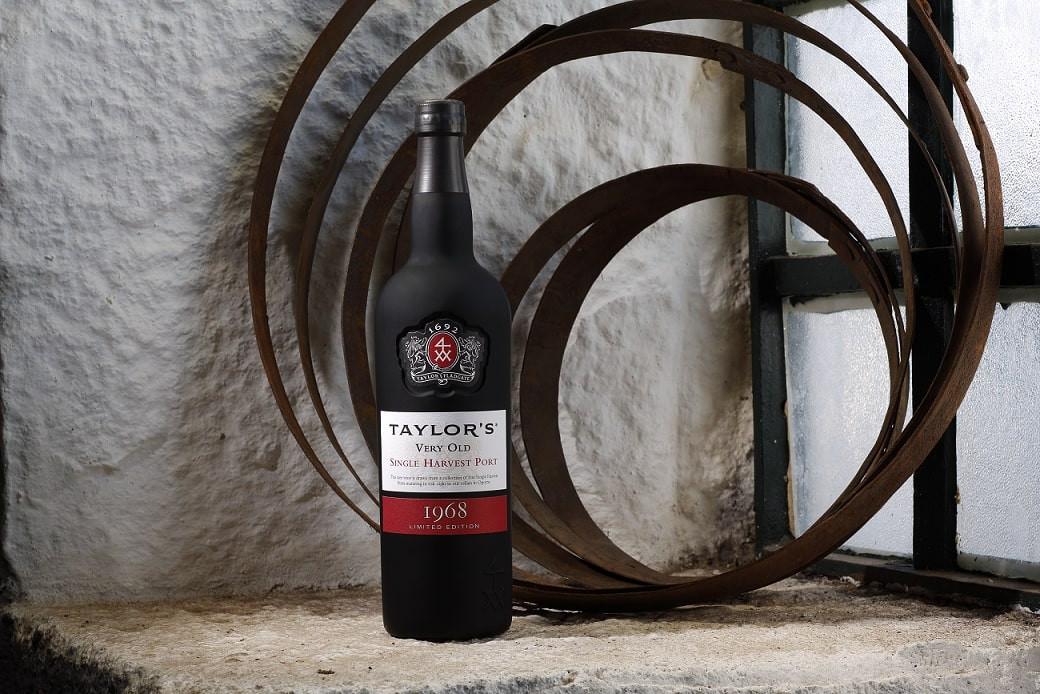 Taylor's Single Harvest 1968 em destaque na maior app de vinhos do mundo
