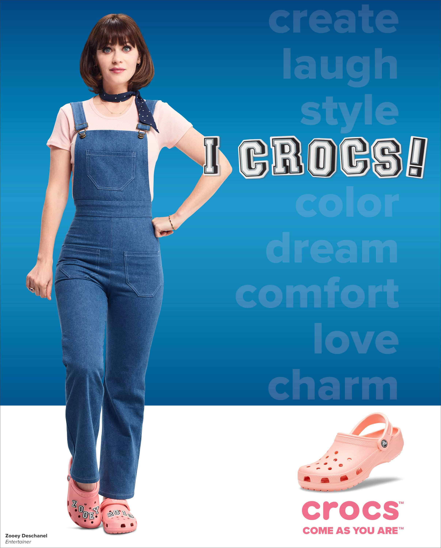 Crocs faz statement com terceiro ano da campanha 'Come As You Are'