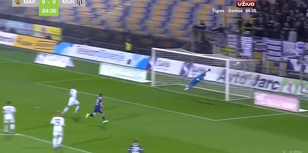 Eslovénia: Jogador do Maribor resolve jogo com remate fulminante