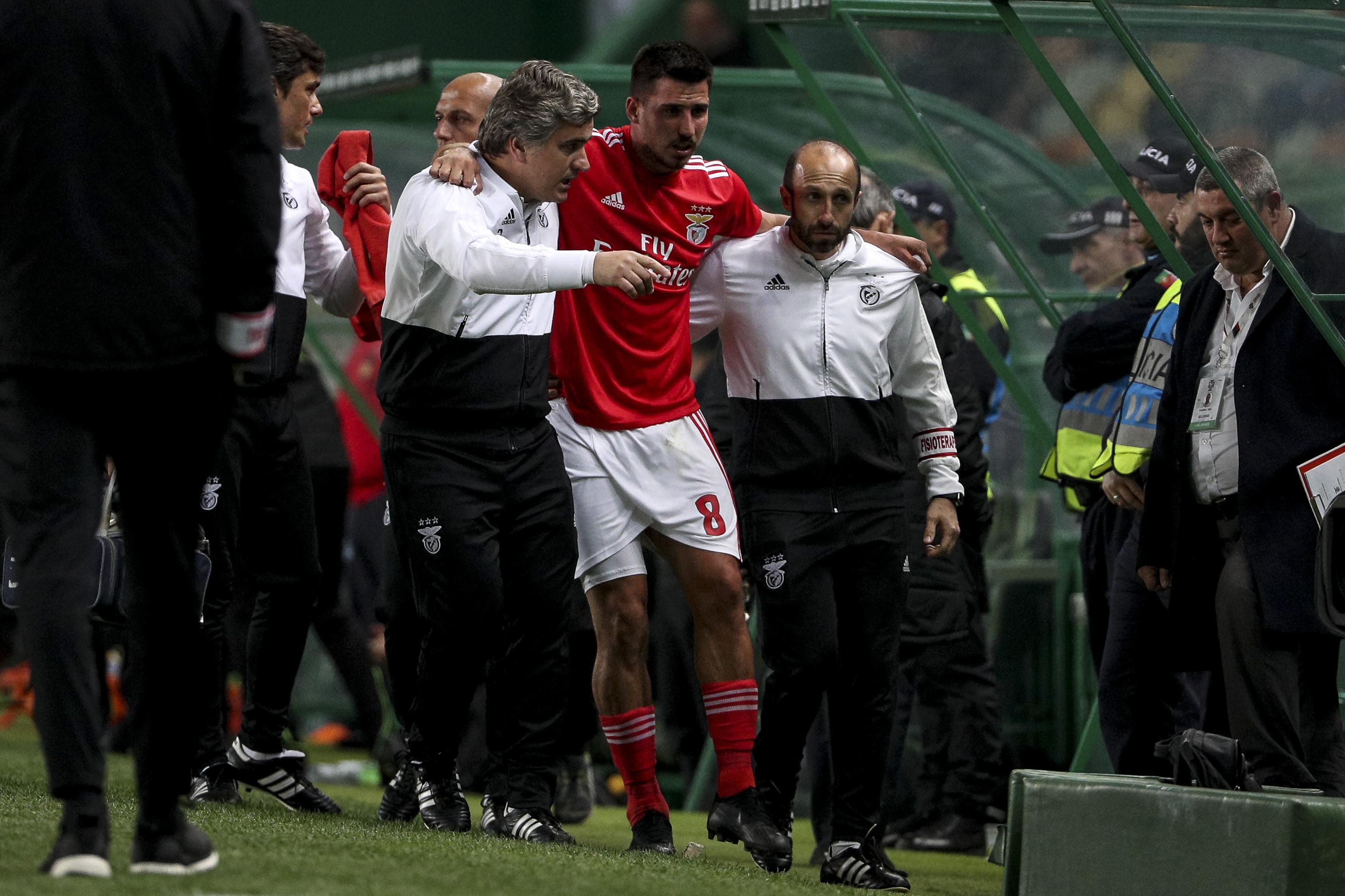 Benfica revela detalhes da lesão de Gabriel