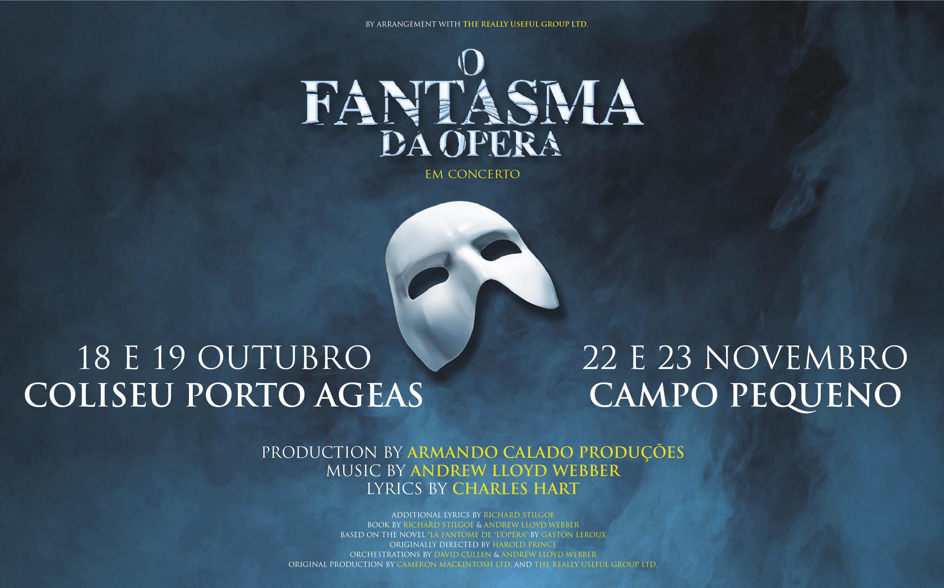 Há mais uma data para o 'Fantasma da Ópera' em Lisboa