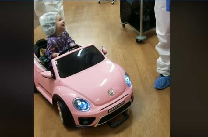 Beep! Beep! Neste hospital, as crianças vão de carro para as cirurgias