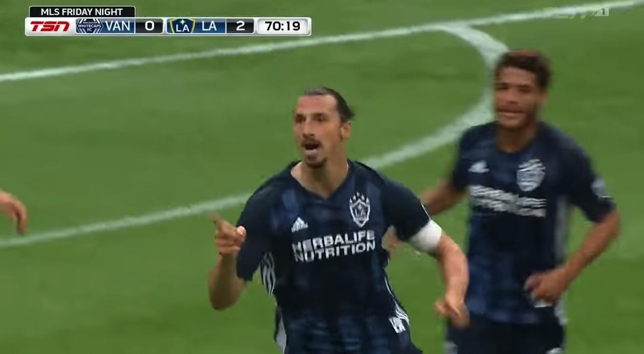 Ibrahimovic imparável na MLS: Terceiro jogo, quarto golo