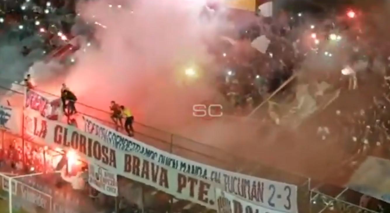 Equipa argentina cai à 2.ª divisão e adeptos reagem de forma arrepiante