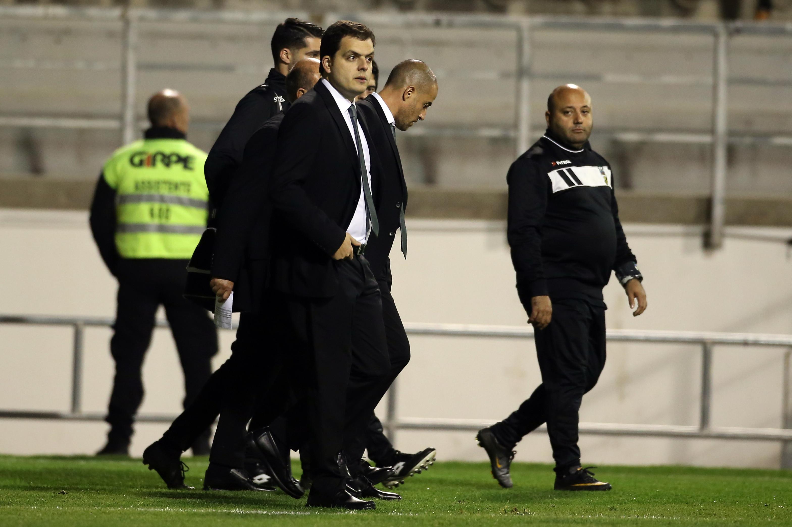 """André Geraldes respondeu a adeptos do Benfica: """"Toupeiras do c..."""""""